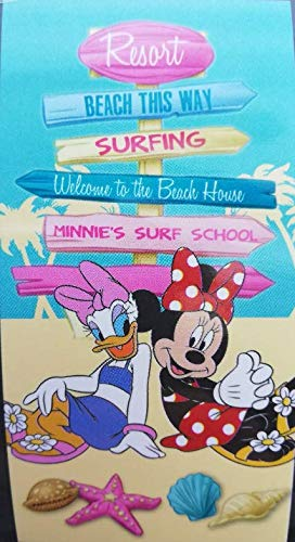 Toalla Microfibra Minnie Disney Daisy Verano 70x140cm