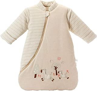 EsTong Unisex Baby Sleep Bag Wearable Blanket Cotton Sleeping Bag Long Sleeve Nest Nightgowns Horse/2.5 Tog M/1-2 Years