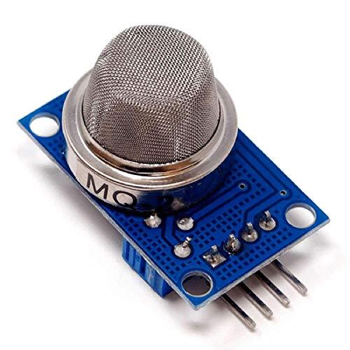 AZDelivery MQ-2 Butane Hydrogen Gas Smoke Detector LPG MQ2 Air Quality Sensor Module Compatible with Arduino and Raspberry Pi including E-Book!
