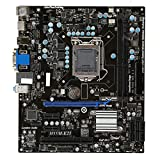 XCJ Placa Base Gaming ATX Ajuste para La Placa Base Fit For MSI H55M-E21 Fit para Fit For Intel H55 LGA 1156 DDR3 8GB DDR3 1600 Core I7 / Core I5 / Core I3 Desktop H55 MainBaord DDR3 1156 Placa Madre