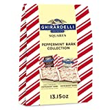 Ghirardelli Peppermint Bark XL Bag, Milk and Dark Chocolate, Holiday Candy Christmas Gift, 259376,...
