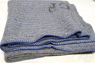 danish military 100% New Wool Blanket- Army Surplus NOS