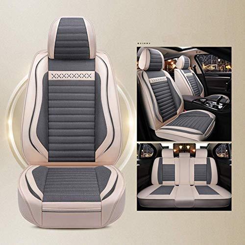 Auto Stoelhoezen Linnen/linnen Super Transparant Set - Verstelbare Stoelhoezen Voor Audi Jeep Ford Mercedes En 99% Andere Soorten 5-zits A