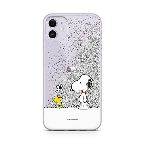 Original & Offiziell Lizenziertes Snoopy Handyhülle für iPhone 11, Hülle, Hülle, Cover aus Kunststoff TPU-Silikon, schützt vor Stößen & Kratzern