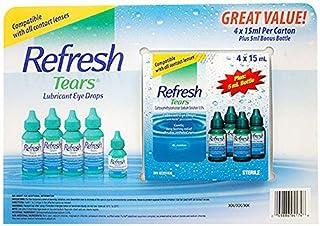 Refresh Tears Lubricant eye drops 4x15 ml, 1x5 ml