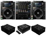 cdj 2000 djm 2000 - Pioneer DJ CDJ-2000 NXS2 + DJM-900 NXS2 + FZCDJBL & FZ12MIXXDBL Cases Bundle Deal