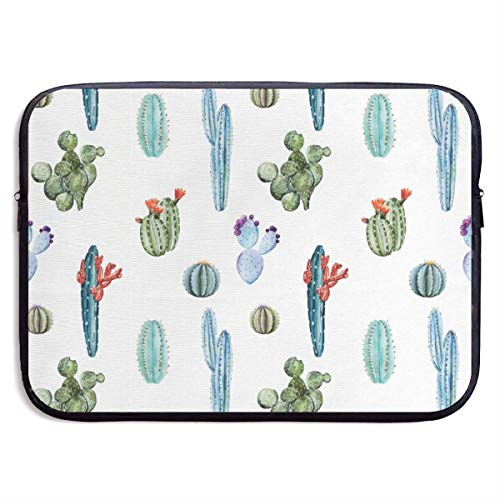 Different Shapes of Cactus Laptop Bags Compatible 15″ Netbook Tablet,Sleeve Briefcase Carrying Handbag Sleeve Case Cover