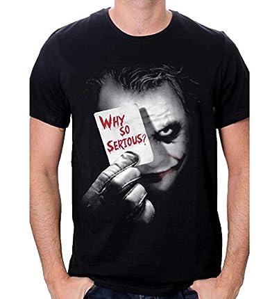 Camiseta Joker - Why So Serious - La Mejor Camiseta Joker