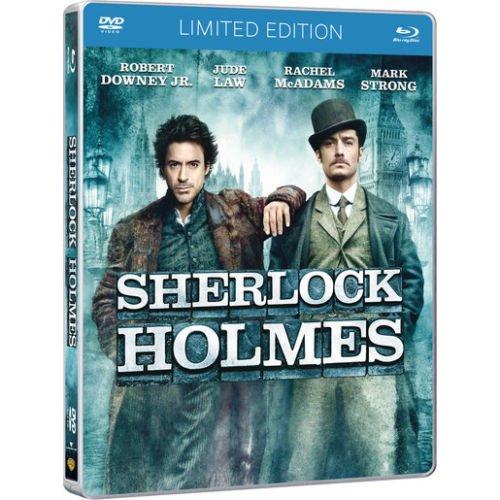 SHERLOCK HOLMES (Ltd CE Label Steelbook) (Blu-ray+Dvd) (Edizione Italiana)