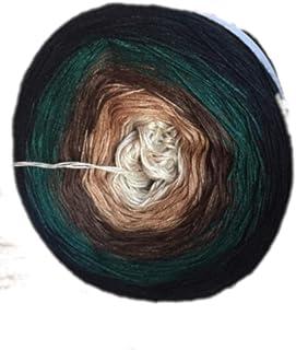 Farbverlaufsgarn Meliert Minis 4X 350m 4Fädig Gesamt 1400m MCUP004 Bobbel Wolle