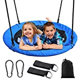 Saucer Tree Swing, Outdoor Nest Swing for...