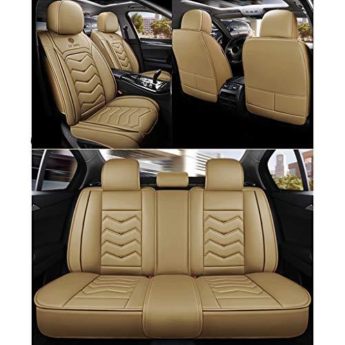 Funda asiento coche Fundas de asientos de coche universales 5 asientos Conjunto completo Estilo depo