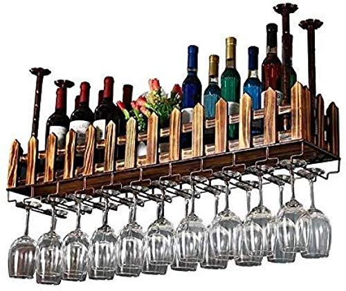 Estante de almacenamiento modular apilable para vino, estante de exhibición de madera para vino, estante para vino colgante, estante de almacenamiento para decoración de barra de cocina, estante para