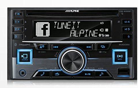 Alpine CDE-W265BT Double DIN Bluetooth in-Dash CD/AM/FM Receiver w/App Direct Mode