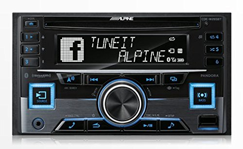 Alpine CDE-W265BT Double DIN Bluetooth in-Dash CD/AM/FM Receiver w/App Direct Mode