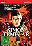 Simon Templar Spielfilm Collection / Drei spannende Abenteuer in Spielfilmlänge (Pidax Film-Klassiker) [3 DVDs] [Alemania]
