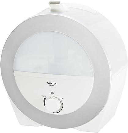 山善 4.0L 超音波ミスト式加湿器(木造約7畳まで/プレハブ約11畳まで) ホワイト KZ-A402(W)