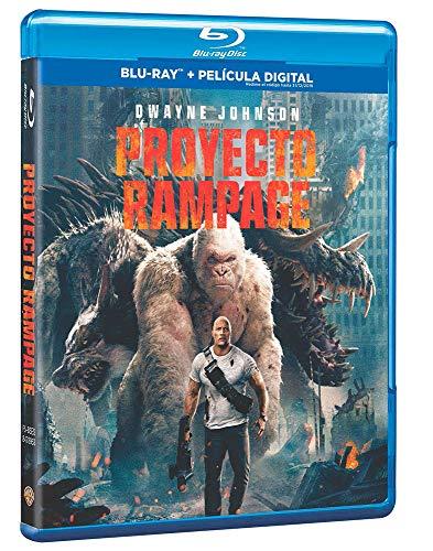 Proyecto Rampage Blu-Ray [Blu-ray]