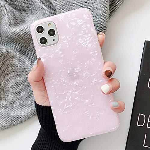 Tybaker iPhone 11 Pro Max Hülle HandyHülle Soft Flex Hüllen Silikon Hülle Ultra Dünn Schutzhülle TPU Bumper Schutz Tasche Schale HandyHullen Hülle Cover für Apple iPhone 11 Pro Max,Shell Pink