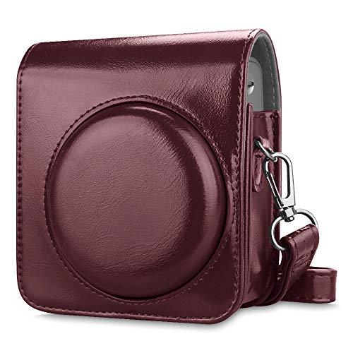 Burgundy Polaroid Camera