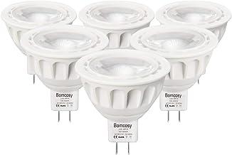 Bomcosy MR16 5W LED-spotlampen, GU5.3 LED-lampen, koelwit 6000K, equivalent aan 50Watt halogeen, AC / DC12V, 420LM, 35 gra...