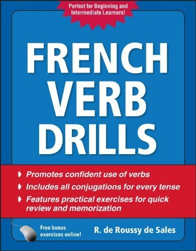 French Verb Drills, Fourth Edition by R. de Roussy de Sales (Sep 10 2010)