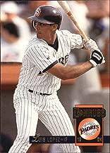1994 Donruss #393 Luis Lopez MLB Baseball Trading Card