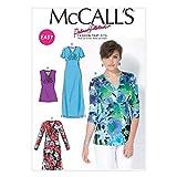 McCall's Patrones de Costura para MC7092 B5 tamaños 8/10/12