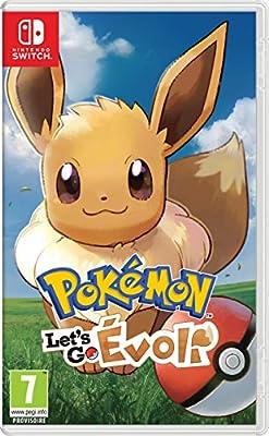 Pokémon : Let's Go, Evoli - Nintendo Switch [Importación francesa] de NINTENDO