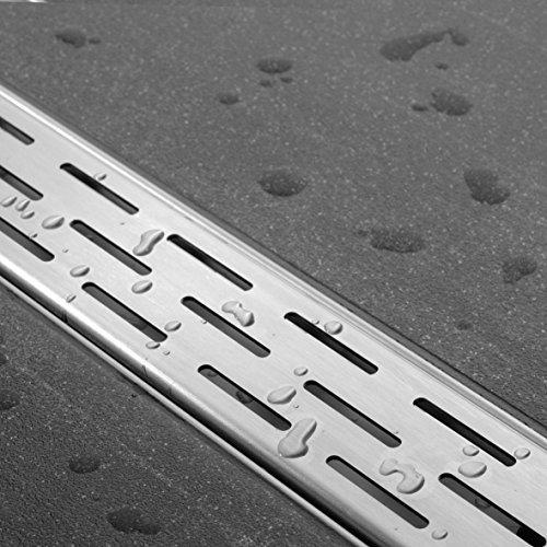 ESS Duschrinne Easy Drain Compact 30 FF 70 cm edelstahl Komplettset flach
