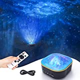 Star Projector, Galaxy Projector, colorsmoon 2 in 1 Night Light Starry Projector with Remote Control for Kids Baby Teen Adults, Perfect for Bedroom/Party/Home Decor (Black)