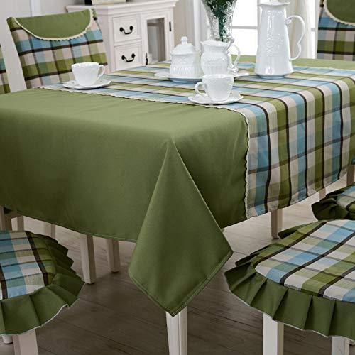 HXRA tafelkleden Outdoor tafelkleden Tafelkleed plaid stof geruit tafelkleed stof tafelkleed tafelkleed rechthoekig restaurant