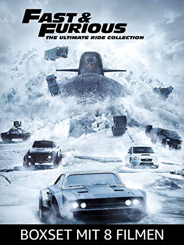 Fast & Furious - Das 8er Film-Boxset
