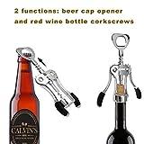 Zoom IMG-1 ipow apribottiglie vino cavatappi professionale