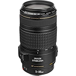 The EF 70-300mm f/4-5.6 IS USM telephoto zoom lens has been developed to meet the high-performance Compared to the original Canon EF 75-300mm IS zoom lens, this telephoto lens has faster autofocus Improved Image Stabilizer Technology provides up to t...