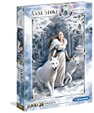 Clementoni- Puzzle 1000 Piezas Anne Stokes Winter Guardians, Multicolor (39477.7)