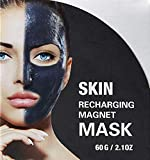 Magnetic Face Mask - Mineral-Rich Magnet Mask - Deep Hydration, <span class='highlight'>Rejuvenating</span> Face Mask for Fine Lines & Sagging Skin