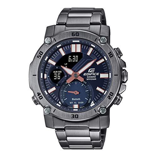 Casio Edifice Bluetooth Connect Analog-Digital Blue Dial Men's Watch ECB-20DC-1ADF(EX526)