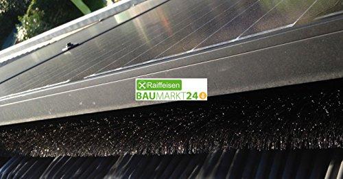 Dari Flex Solarplattenschutz Ø12cm 1,20m Laubschutz Marderschutz Dachrinnenschutz (1)
