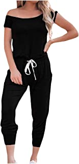 Pandapang Womens Romper Stylish See Through Falbala Clubwear Jumpsuits