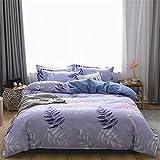 YYSZM Home Textiles Bettbezug Bettwäsche Simple Square Soft Skin-Friendly Hypoallergenic 4-Teiliges...
