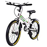 20in Teens Student Road Bike,Outdoor Mountain Bicycle BMX Style Frame Kids Cycling Bikes New with Water Bottle Bag Children Bicycle【U.S. in Stock】