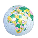 American Educational 48' Inflatable World Globe in Blue