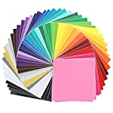 Oracal Assorted 631 and 651 Vinyl - 48 Pack of Top Colors - 12' x 12' Sheets