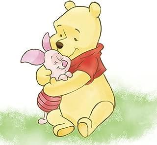 11 Inch Piglet Hugs Winnie The Pooh Bear Disney Removable Peel Self Stick Adhesive Vinyl Decorative Wall Decal Sticker Art Kids Room Home Decor Girl Boy Children Bedroom Nursery Baby 11 x 8 Inch