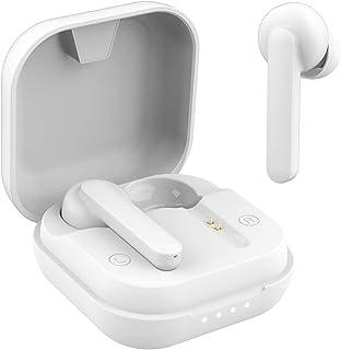 ワイヤレスイヤホン bluetooth5.0 最新 最大40時間音楽再生 瞬時接続 自動ペアリング Hi-Fi高音質 IPX7防水 両耳 左右分離型 ハンズフリー通話 ノイズキャンセリング AAC Siri対応マイク内蔵 WEB会議 テレワーク...