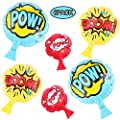 """Whoopie Cushion[6 Pack] Fun Prank Toys,4"""" 7"""" 8"""" Inches Whoopee Cushion,Novelty Party Toys Favors for Kids,Boys,Girls and Adults from jinxxi"""