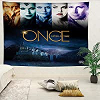 Once Upon A Time Wall Hanging Landscape 3D Printing Digital Printing Home Decoration Tapestry 150x100cm
