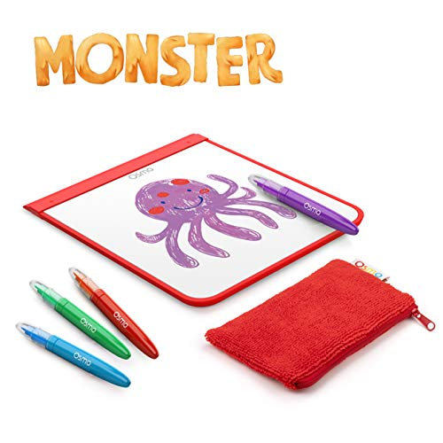 Osmo - Monster - Ages 5-10 - Bring Real-life Drawings to Life - For iPad or Fire Tablet (Osmo Base Required - Amazon Exclusive)