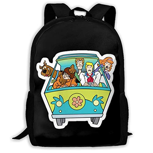 AOOEDM Travel Backpack Laptop Backpack Large Diaper Bag -Scooby Aoo Backpack School Backpack for Women and Men